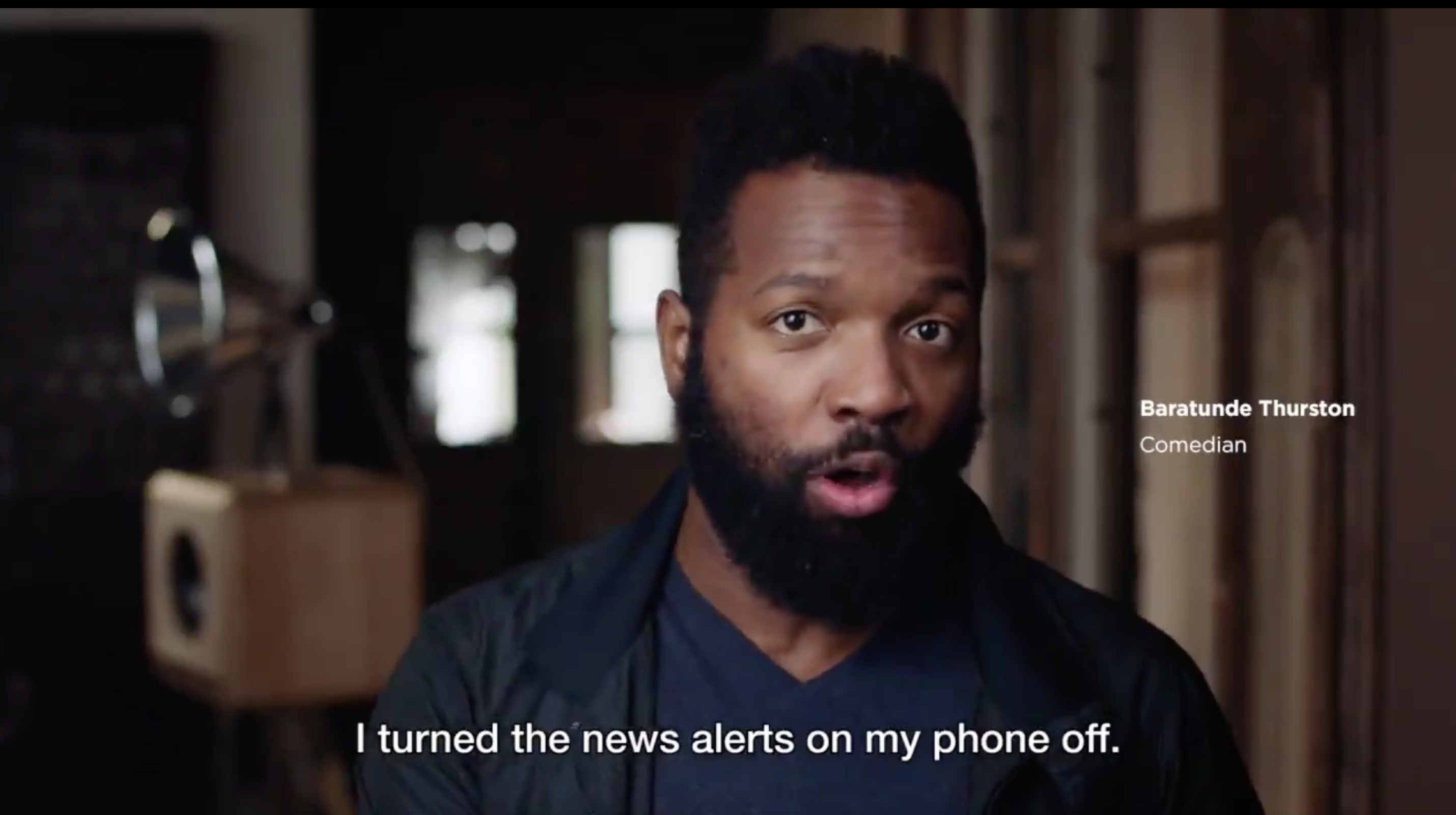 Baratunde Thurston in The Correspondent launch video