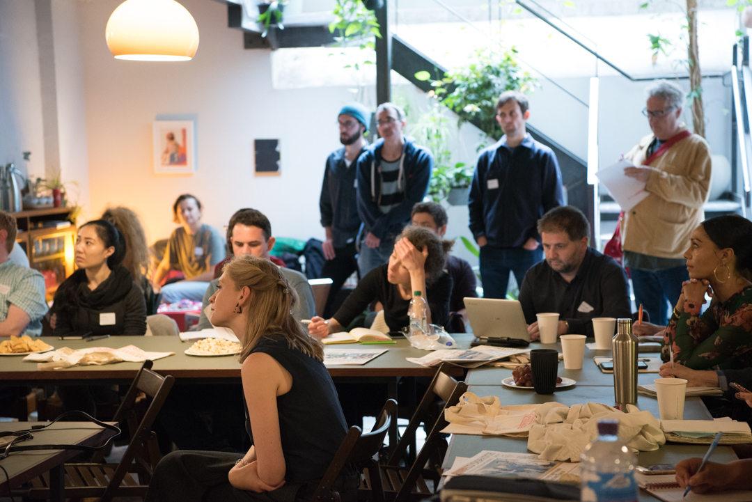 The Accelerator Ambassador Network UK meetup in June, run by Anna Merryfield from Social Spider