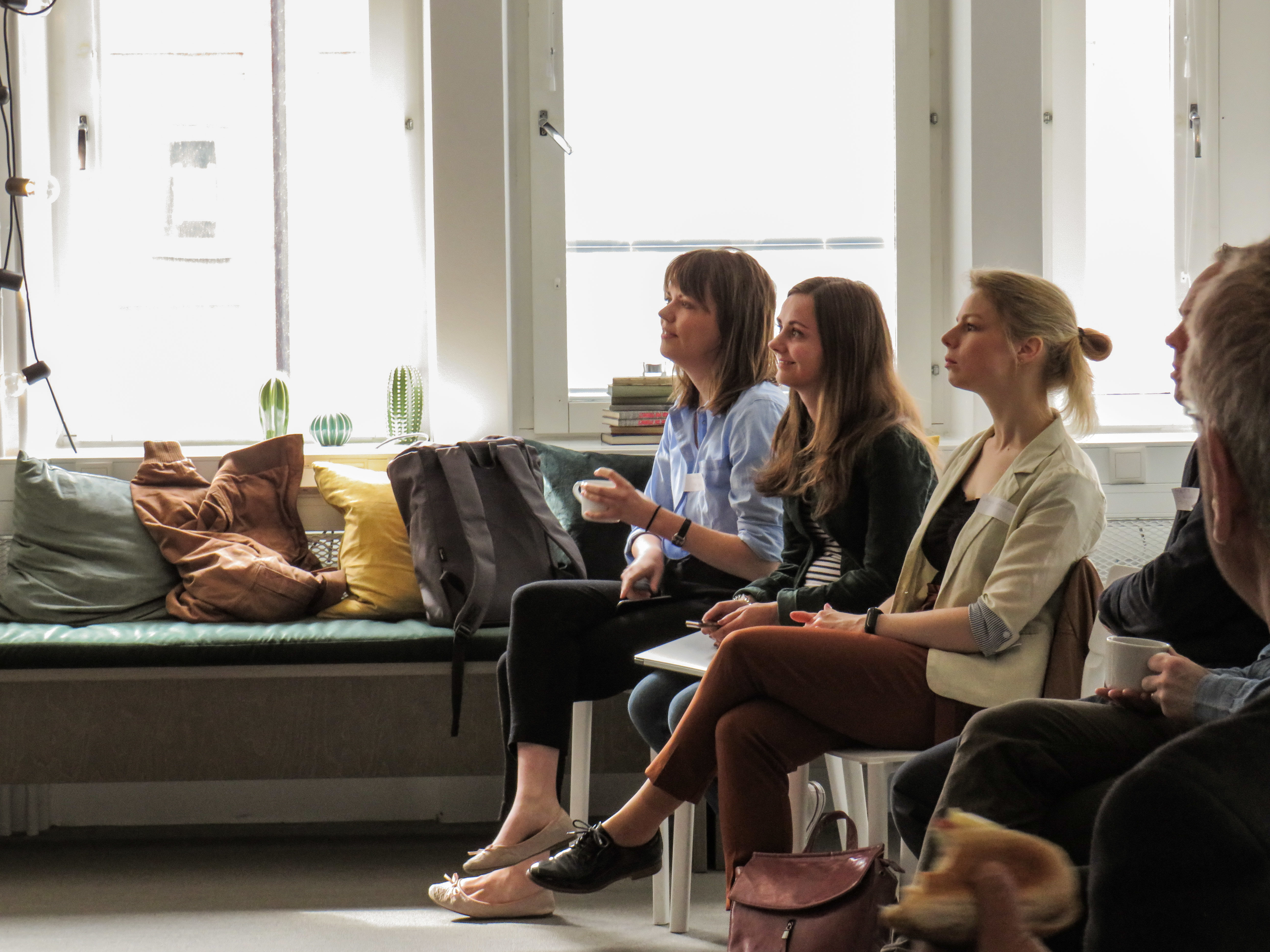 Onlookers in Stockholm for the recent Accelerator Ambassador Network meetup, hosted by Catherine Edwards from The Local