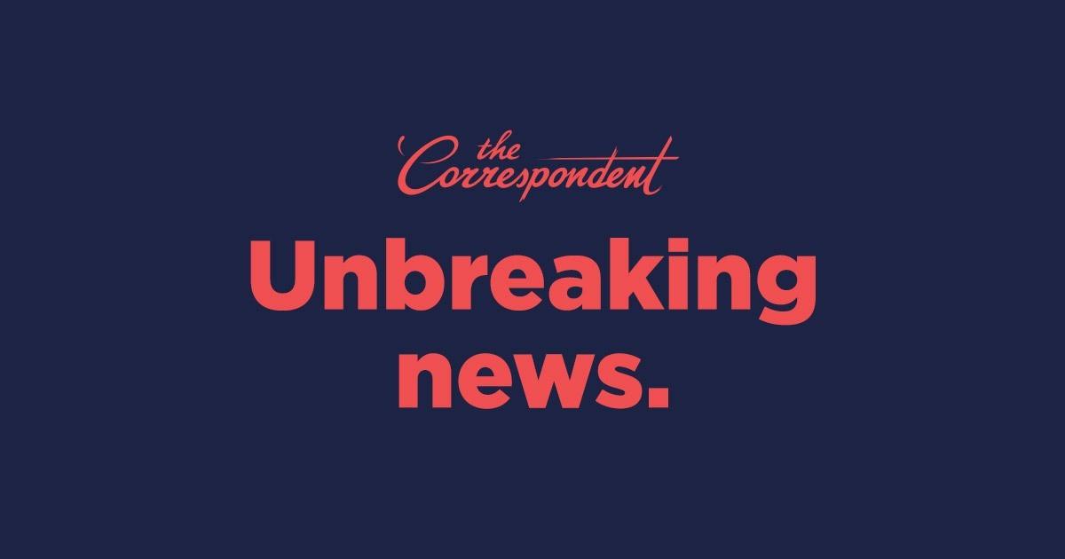 Momkai design for The Correspondent campaign
